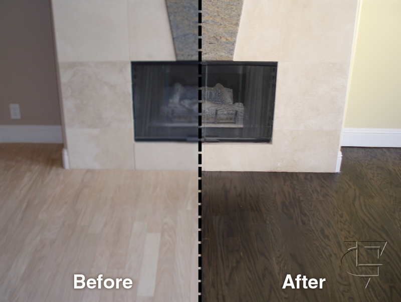 before and after - oakland wood floors