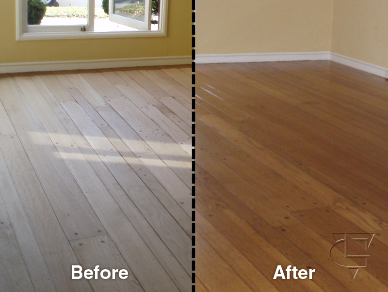 Cost of refinishing hardwood floors diy crafts for Hardwood floor refinishing