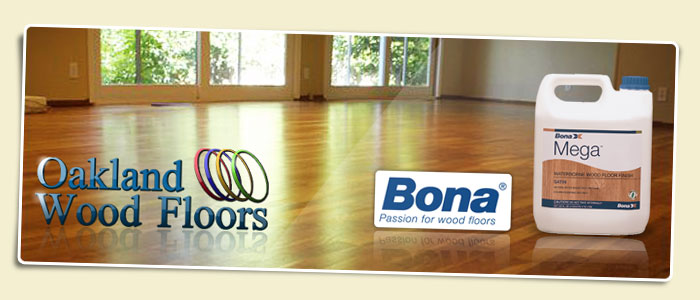 Oakland Wood Floors Bona Mega