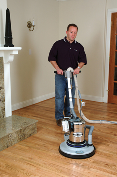 HARDWOOD FLOOR SANDING AND REFINISH DUST -FREE  BY BONA